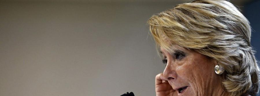 Actual Actual La empresa subvencionada del marido de Aguirre destinó dinero a jugar en bolsa