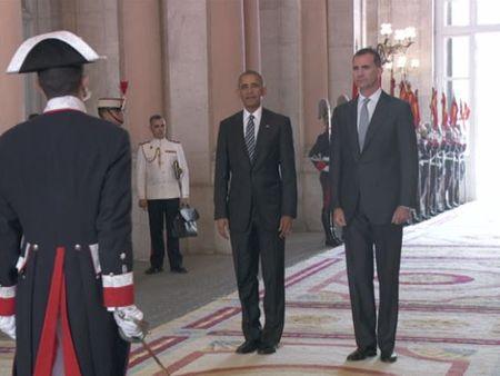 Actual Actual El rey Felipe VI y Obama se reúnen en el Palacio Real