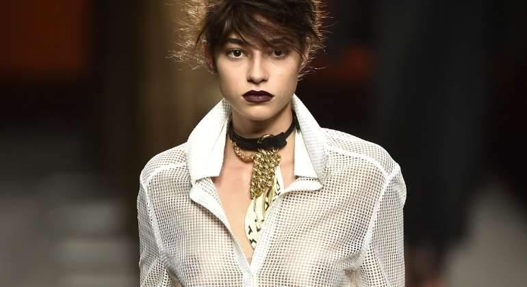 Actual Actual Rocío Crusset, la más sexy de la pasarela Cibeles