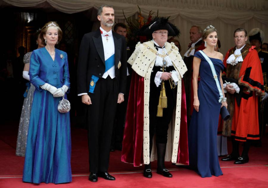 Actual Actual Las 7 claves del triunfal paseo de doña Letizia por Reino Unido.