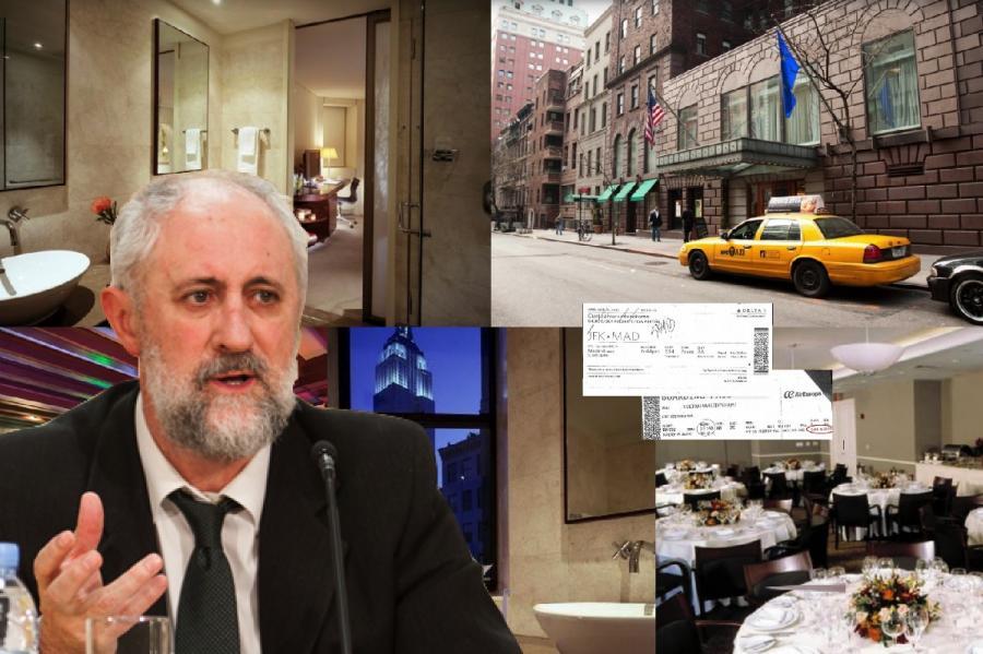 Actual Actual El nº 2 de Carmena vuela en 'business' a Nueva York tres días para ir de oyente a una conferencia